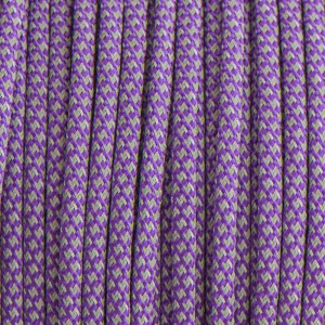 Paracord reflective 50/50, super reflective snake purple #r16026S