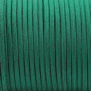 Paracord Type III 550, BLACK NOISE emerald green #086-BN