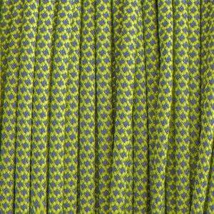 Paracord reflective 50/50, super reflective snake green pastel #r16421S