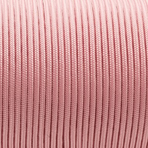 Minicord. Paracord 100 Type I (1.9 mm), light pink #NR097-type1