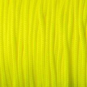 Minicord. Paracord 100 Type I (1.9 mm), sofit yellow #319-type1