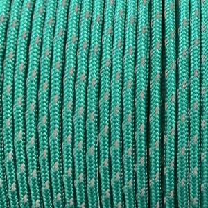 Minicord Type I reflective (1.9 mm), emerald green #r2086-Type1