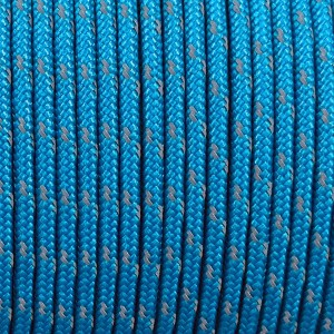 Minicord Type I reflective (1.9 mm), blue #R2050-type1
