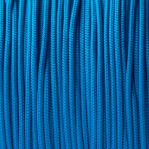 Minicord. Paracord 100 Type I (1.9 mm), sky blue #024-type1