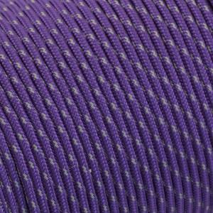 Minicord Type I reflective (1.9 mm), purple #r2026-type1