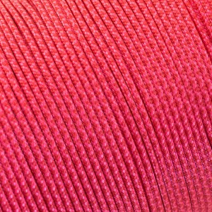 Minicord. Paracord 100 Type I (1.9 mm), сrimson /sofit pink #448 (324|315)-Type1
