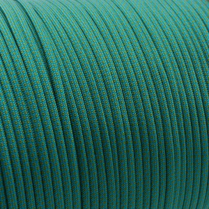 Paracord Type III 550, ice mint /moss snake #456 (049+331)